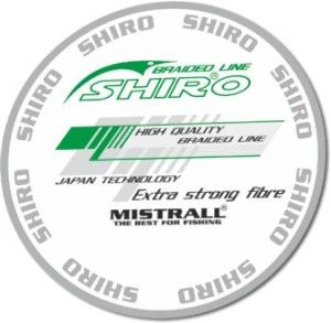 SHIRO BRAIDED  LINE 10mt GREEN 0,08